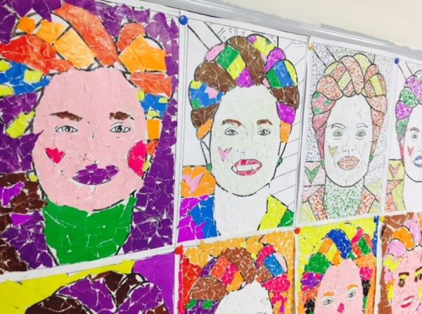 3 A Sinifi Her Ay Bir Ressam Etkinligi Frida Kahlo 2018